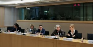 GGP Director Anne Gauthier opens the stakeholder seminar